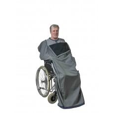 Lämpöpussi pyörätuolia käyttävälle, välikausimalli