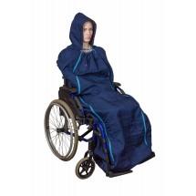 Lämpöpussi pyörätuolia käyttävälle / pyörätuolipussi