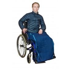 Lämpöpussi pyörätuolia käyttävälle / pyörätuolipussi / vyötärömalli